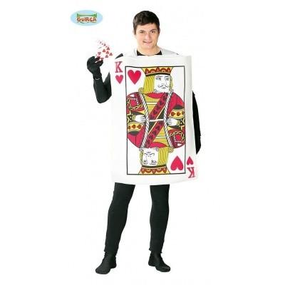 Speelkaart kostuum