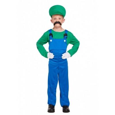 Foto van Luigi kostuum kind