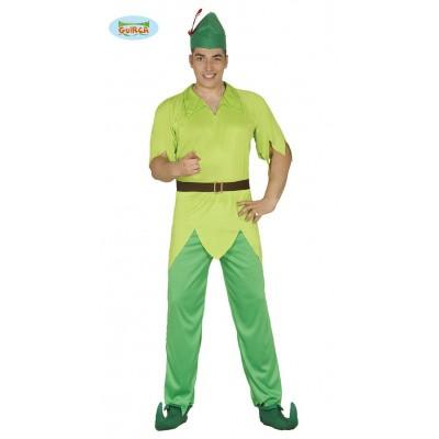 Foto van Peter pan kostuum