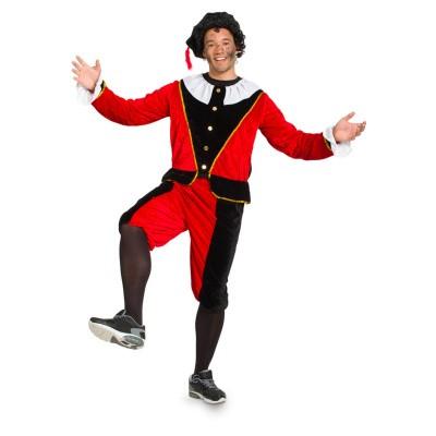 Foto van Pieten kostuum rood zwart