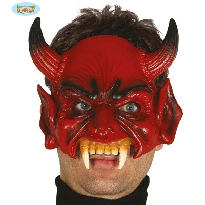 Foto van Half-masker Duivel/Demon