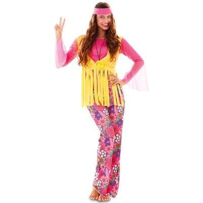 Foto van Hippie kostuum vrouw