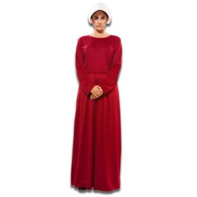 Foto van the Handsmaid's tale kostuum