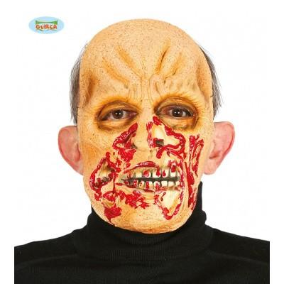 Foto van Halloween masker zombie