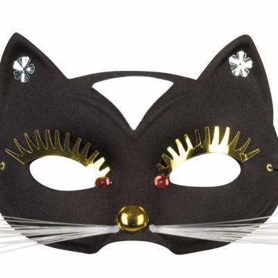 Foto van Kattenmasker zwart
