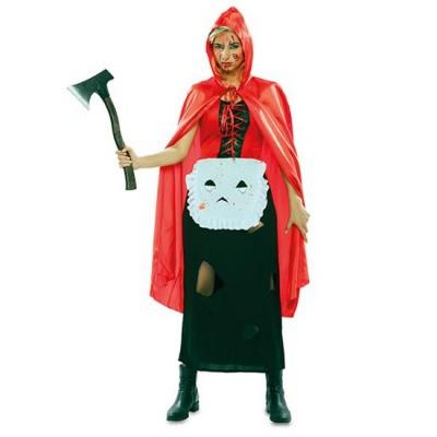 Foto van Roodkapje kostuum - zombie