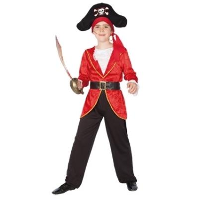 Foto van Kapitein haak kostuum jongen