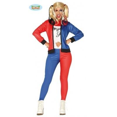 Foto van Harley quin kostuum