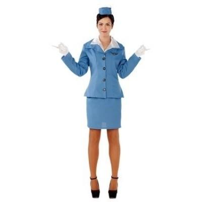 Foto van Stewardess volwassen maat