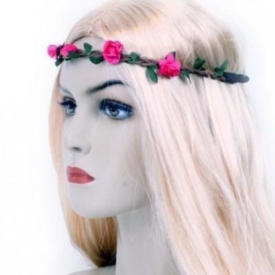 Hippie hoofdband bloemen