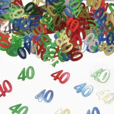 Foto van Tafeldecoratie/sier-confetti 40 /st