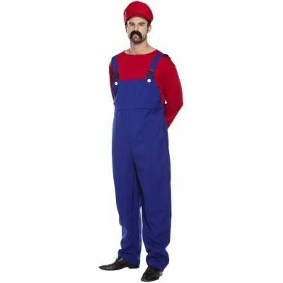 Foto van Mario kostuum