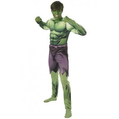 Foto van Gespierde hulk kostuum (licentie) heren one size