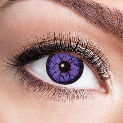 Foto van Monster violet maandlenzen (per paar)