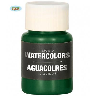 Foto van Body paint op waterbasis - donker groen