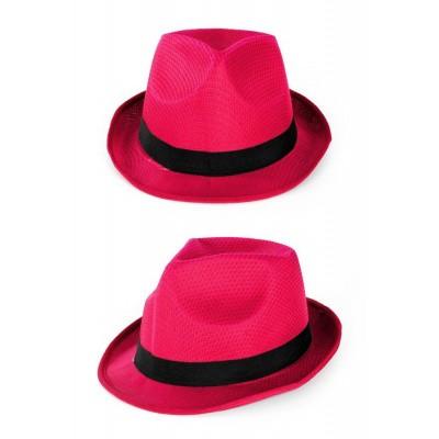 Foto van Neon hoed roze