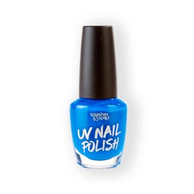 Foto van UV Nagellak blauw