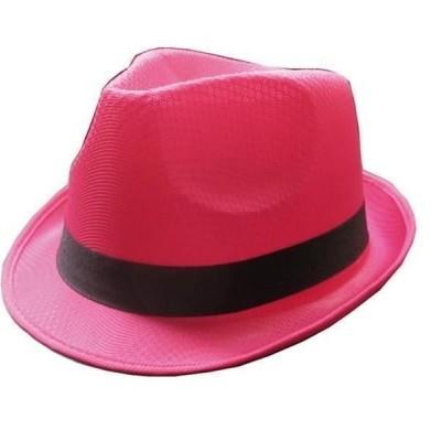 Foto van Roze neon hoed