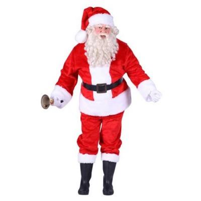 Foto van Kerstman kostuum pluche
