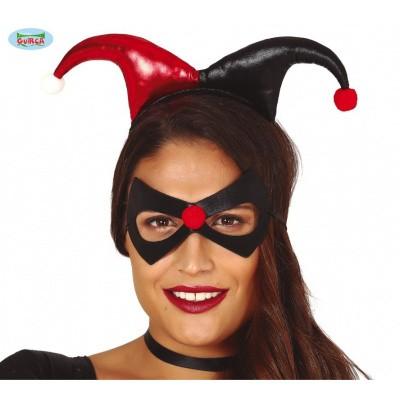 Foto van Joker tiara en masker