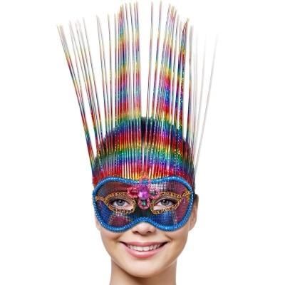 Foto van Masker Venice Rainbow Deluxe
