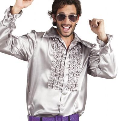 Foto van Disco blouse zilver