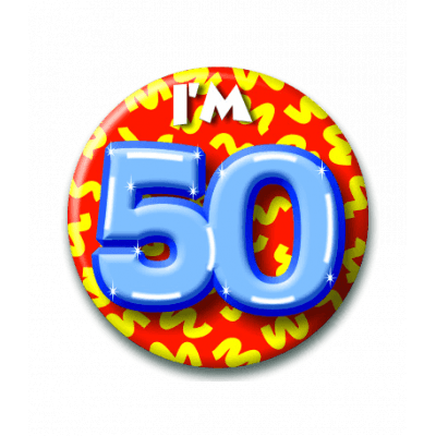 Button 50 jaar