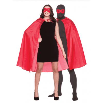 Cape superheld rood