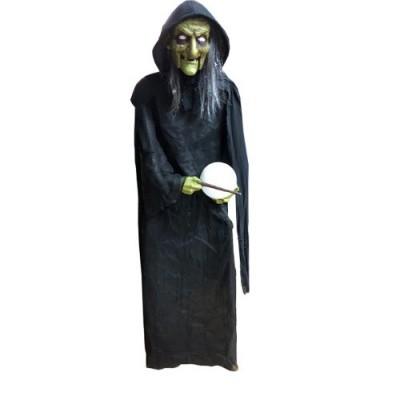 Halloween decoratie heks XXL 180cm