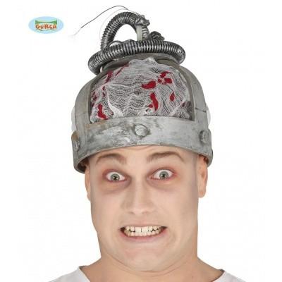 Foto van Halloween elektrocutie helm