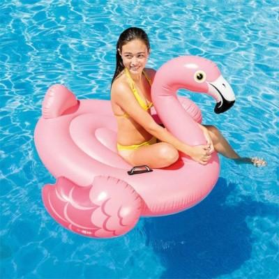 Foto van Opblaas flamingo XL