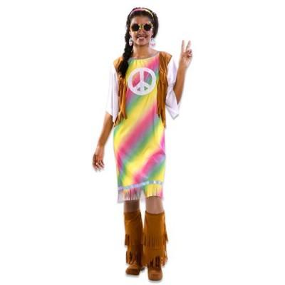 Foto van Hippie kostuum dames