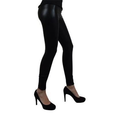 Foto van Metallic legging zwart