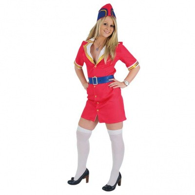 Foto van Stewardess kostuum - Luxe
