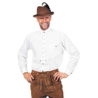 Foto van Tiroler overhemd wit