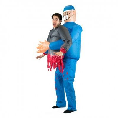Foto van Dokter carry me kostuum