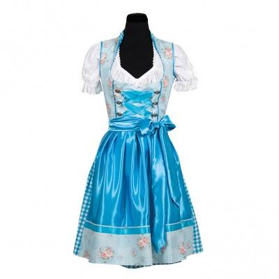 Foto van Dirndl jurk blauw - Nina