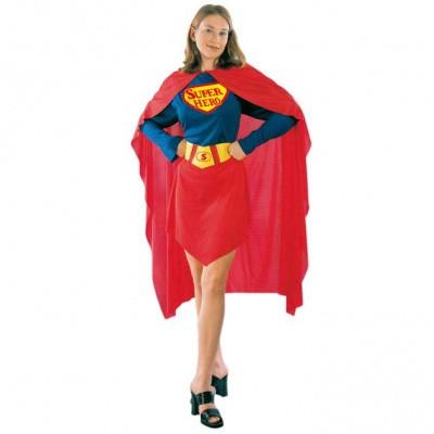 Foto van Superheld vrouw kostuum