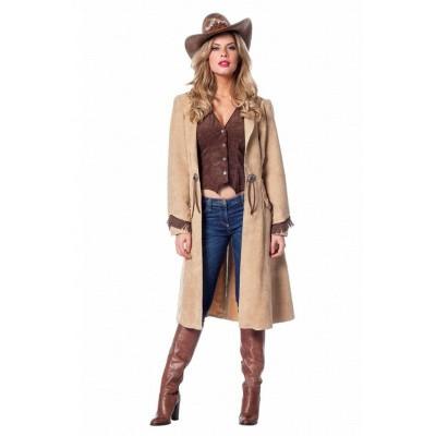 Foto van Cowgirl jas en gilet - Luxe