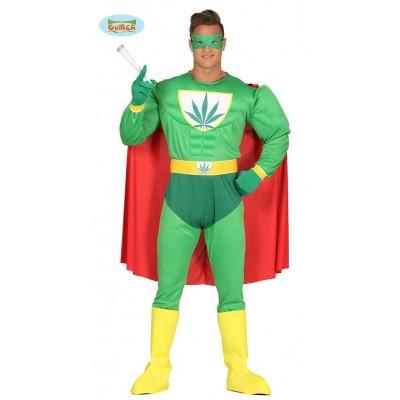 Foto van Superheld kostuum wiet