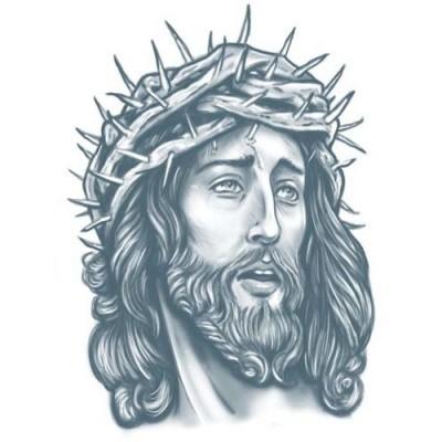 Foto van Prison Tattoo Jezus
