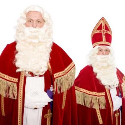 Foto van Sinterklaas baard P nieuw kanekalon 34.121