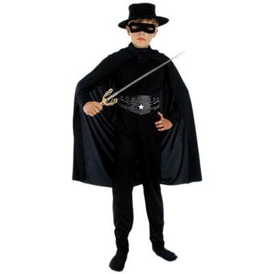 Foto van Zorro kostuum kind