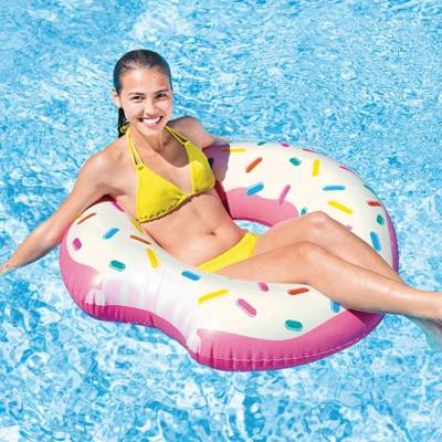 Foto van Opblaas donut