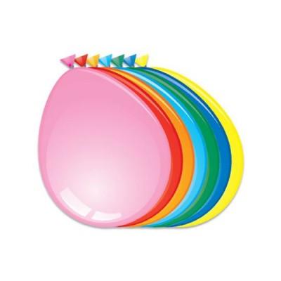 Foto van Ballonnen assorti kleuren 50 stuks