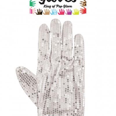 Foto van Michael Jackson handschoen