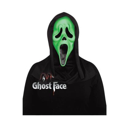 Foto van Scream masker Glow in the dark