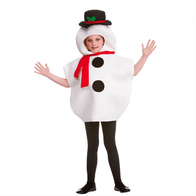 Foto van Sneeuwpop kostuum kind