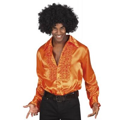 Foto van Oranje disco blouse