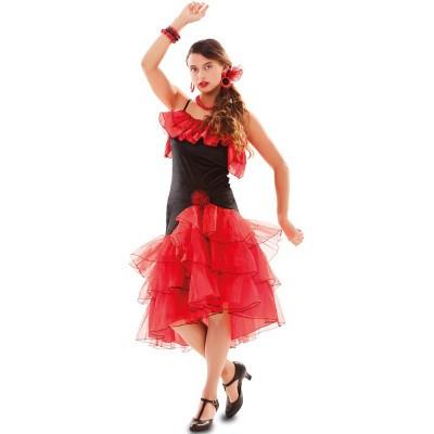 Foto van Spaanse jurk flamenco